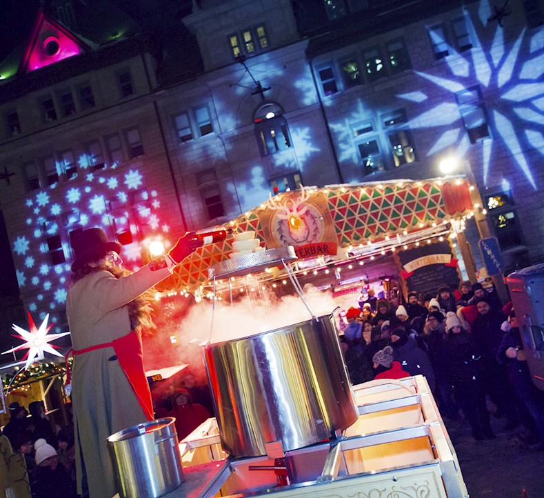 Why a German Christmas Market ... in Quebec City?
